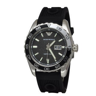 Armani Men's AR6044 Sportivo Black Watch