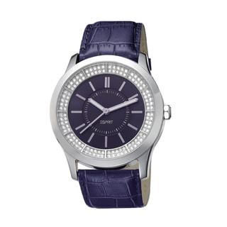 Esprit Women's ES103812003 Circuit Glam Purple Watch