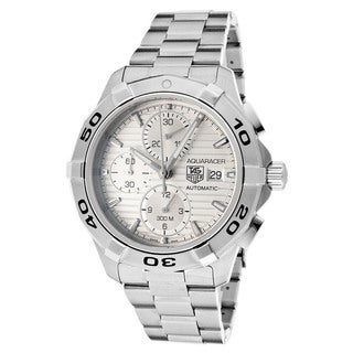 Tag Heuer Men's CAT2111BA0959 Link Silver Dial Stainless Steel Watch