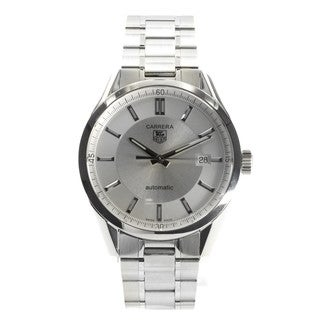 Tag Heuer Carrera Men's WV211A.BA0787 Silvertone Automatic Watch