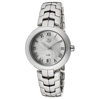 Tag Heuer Women's WAT1314.BA0956 Link Silvertone Watch