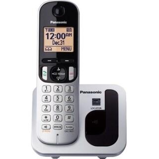 Panasonic KX-TGC210S Cordless Phone - Silver
