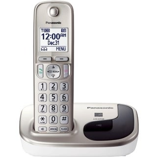 Panasonic KX-TGD210N DECT 6.0 Cordless Phone - Silver