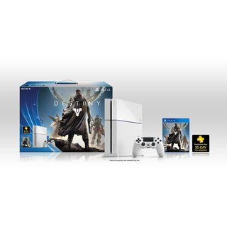 Sony PS4 - Glacier White PlayStation 4 Destiny Bundle