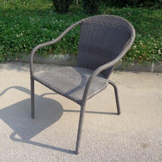 Cozumel Resin Wicker All-weather Dining Chairs (Set of 4)