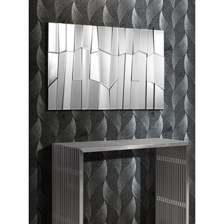 Clear Glacier Rectangular Mirror