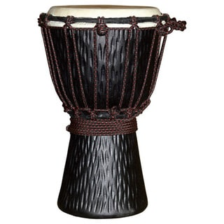 World Rhythm Travel-size Djembe Drum (Indonesia)