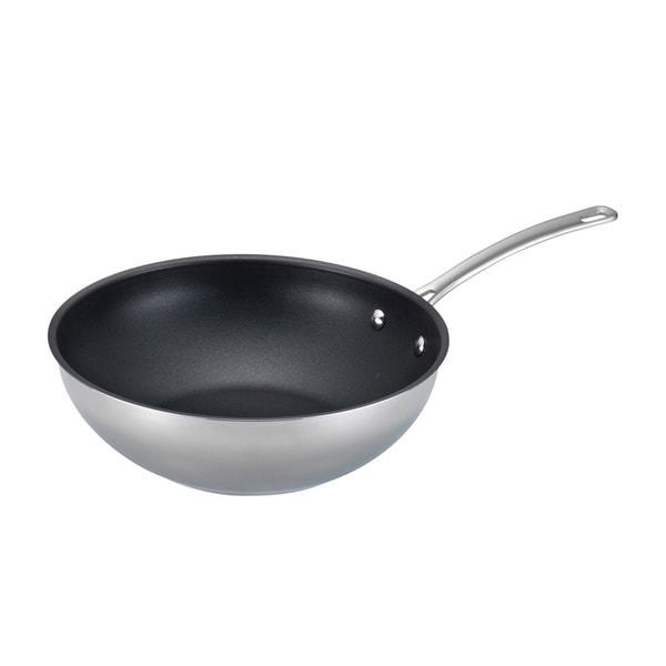 Circulon Genesis Stainless Steel Nonstick 12.25-inch Stir Fry