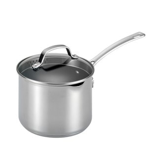 Circulon Genesis Stainless Steel Nonstick 3-quart Covered Straining Saucepan