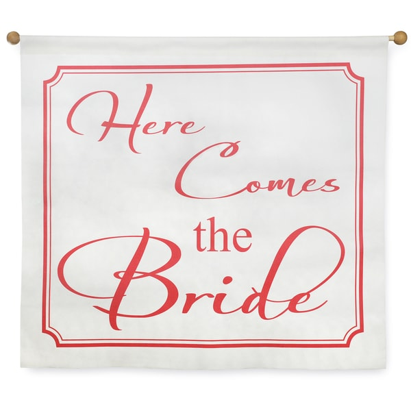 'Here Comes the Bride' Wedding Banner