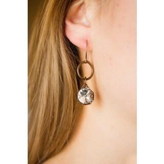 Simply Elegant Crystal Dangle Earrings
