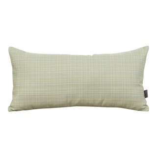 Cadence Seamist Kidney Style Patio Throw Pillow