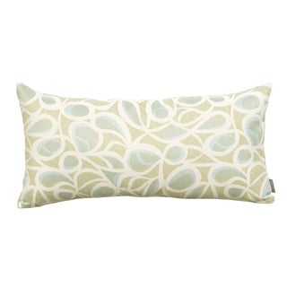 Tempo Seamist Kidney Style Patio Throw Pillow