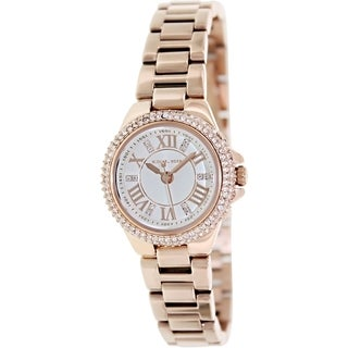 Michael Kors Women's MK3253 Camille Rosetone Glitz Watch
