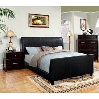Furniture of America Benedicte Modern Espresso 3-piece English Style Bedroom Set