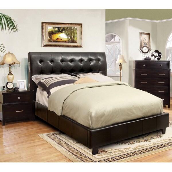 Furniture of america perrington 2 piece espresso bluetooth for Furniture of america reviews