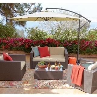 the-Hom Cane Garden 5-piece Patio Set