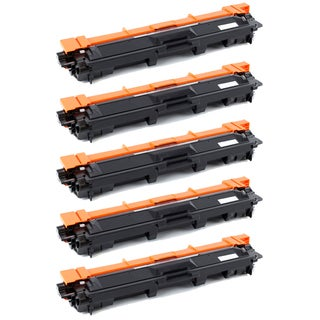 Brother TN221 Compatible Black Toner Cartridges (Pack of 5)
