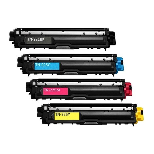 Brother TN225 Compatible Toner Cartridges (Pack of 4)
