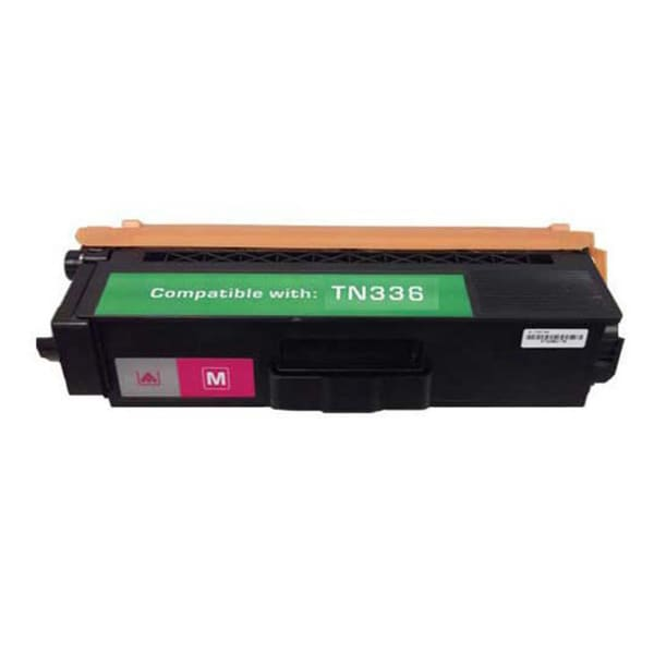 Brother TN336 Compatible Magenta Toner Cartridge