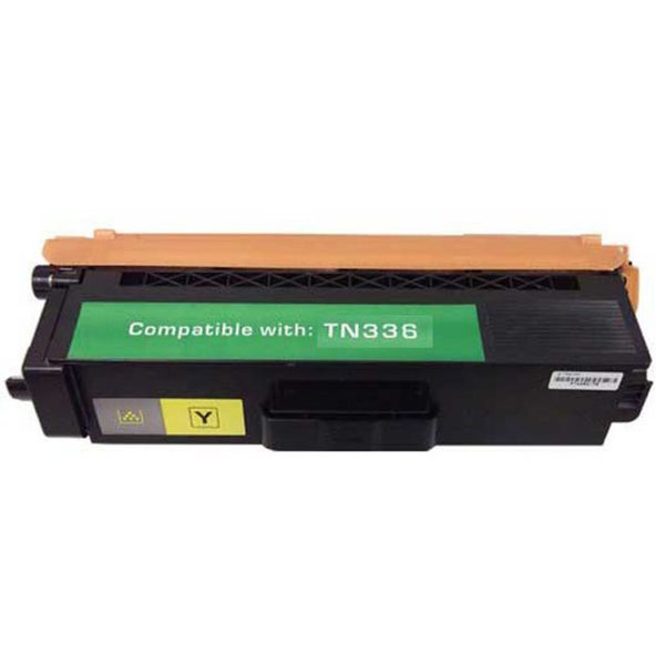 Brother TN336 Compatible Yellow Toner Cartridge