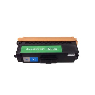 Brother TN336 Compatible Cyan Toner Cartridge