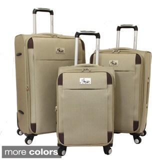 Chariot Milan 3-piece Lightweight Spinner Luggage Set