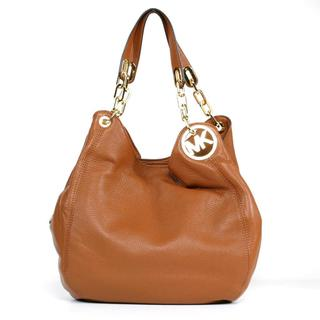 MICHAEL Michael Kors 'Fulton' Luggage Large Shoulder Tote