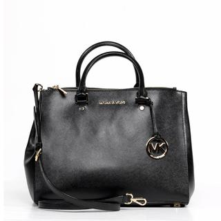 MICHAEL Michael Kors Jet Set Travel Large Dressy Black Tote