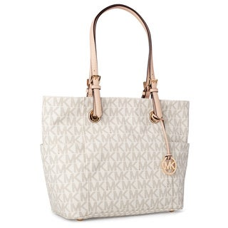MICHAEL Michael Kors Jet Set Travel Large EW Vanilla Tote
