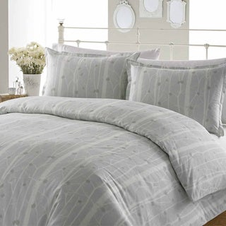 Laura Ashley Cottonwood Cotton 3-piece Duvet Cover Set
