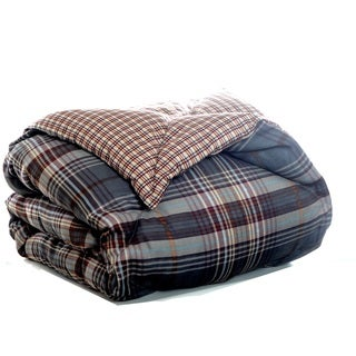 Eddie Bauer Port Orchard Reversible Down Alternative Throw