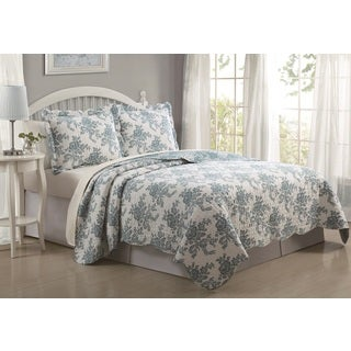 Floral Cloud 3-piece Quilt Set