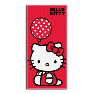 Hello Kitty Balloon Beach Towel