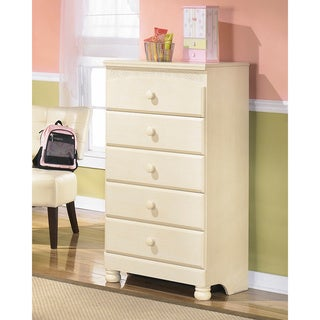 Signature Designs by Ashley Cream Cottage Retreat 5-drawer Chest