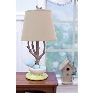 Nurture Imagination Nest Lamp Base and Shade