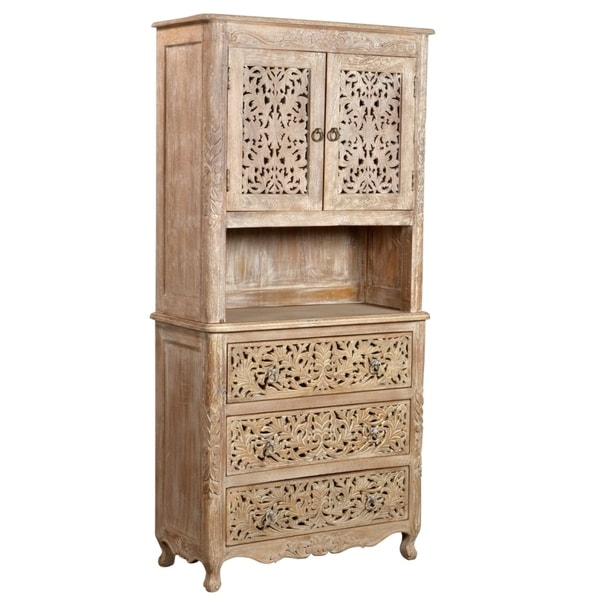 Carver 2-door 3-drawer Cabinet