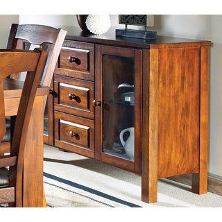 Lansing Medium Oak 3-drawer Server