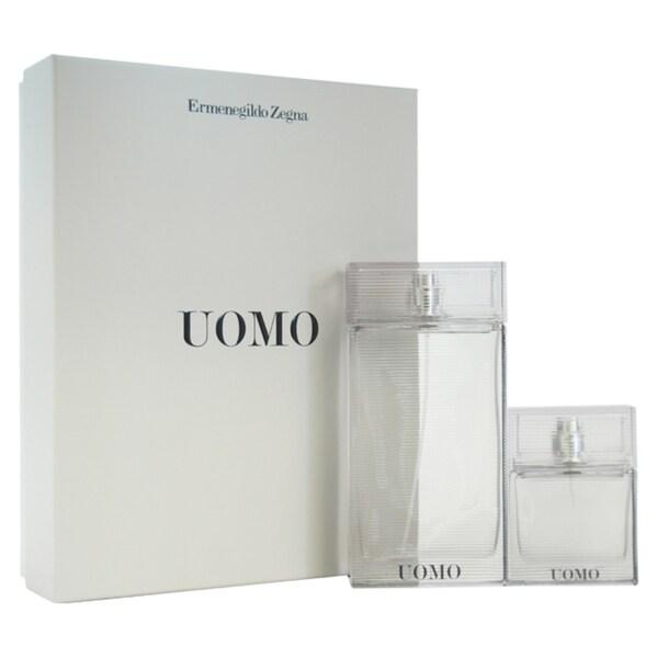 Ermenegildo Zegna Uomo Men's 2-piece Gift Set