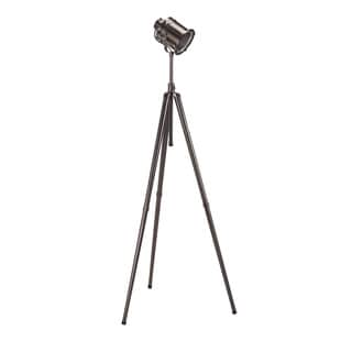 Signature Designs by Ashley Quetzal Black Nickel Tripod Style Metal Floor Lamp