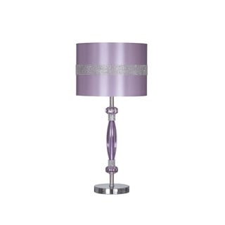 Signature Designs by Ashley Nyssa Purple Metal Table Lamp