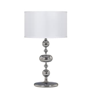 Signature Designs by Ashley Raschel Chrome Metal Table Lamp (Pack of 2)