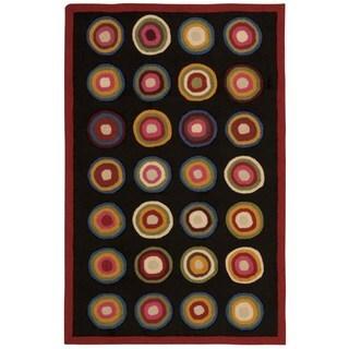 Nourison Everywhere Kitchen Black Accent Rug (3'6 x 5'6)