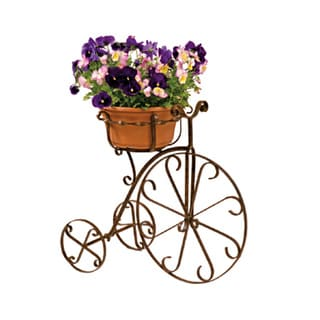 22-inch Metal Fancy Bike Planter