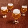 Personalized Belgian Beer Glasses (Set of 4)