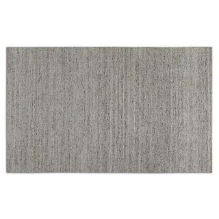 Dacian White Viscose Rug (8x10)