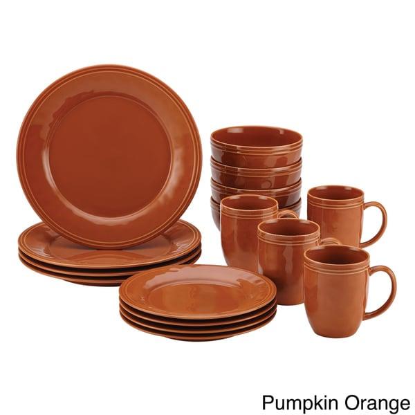 Rachael Ray Cucina Dinnerware 16-piece Stoneware Dinnerware Set 13310459