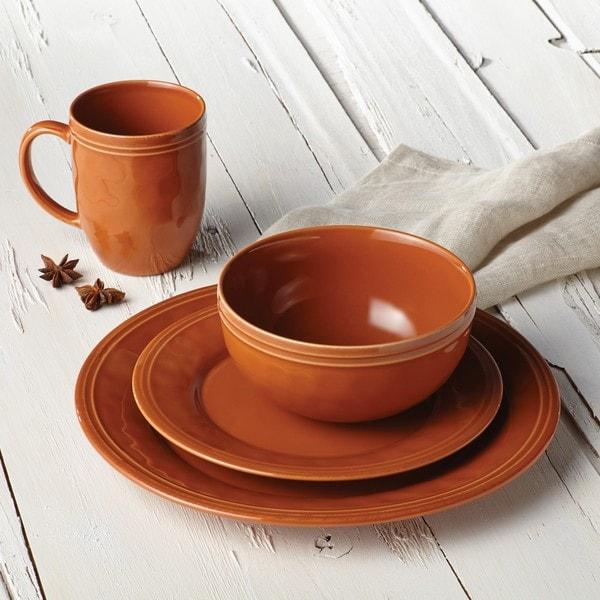 Rachael Ray Cucina Dinnerware 16-piece Stoneware Dinnerware Set 13310455