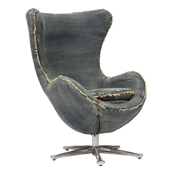 Winchester Blue Denim Arm Chair