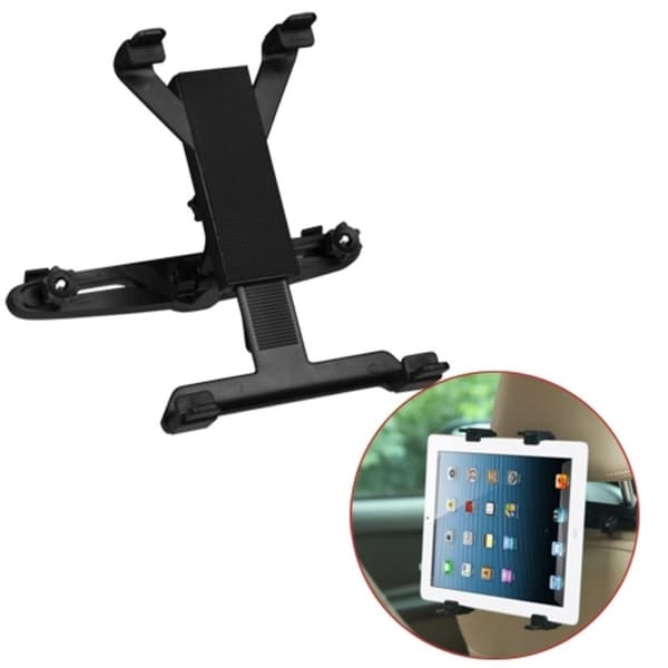 INSTEN Black Car Head Cushion Handsfree Holder Mount for iPad Galaxy Tab Pro